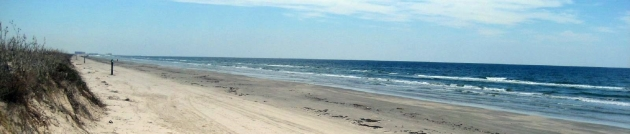 long beachs in port aransas