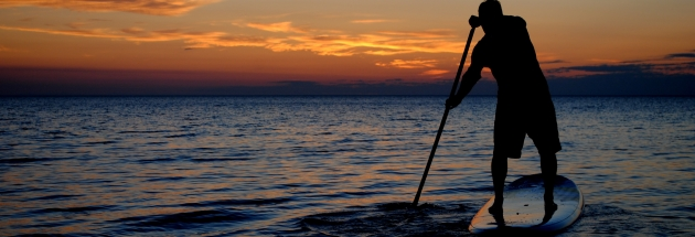 sup island surf rentals port aransas-sunset